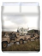 A Pink Panther Land Rover Duvet Cover