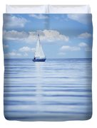 A Sailboat Duvet Cover