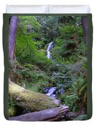 A Small Waterfall Duvet Cover