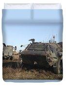 A Tpz Fuchs Armored Personnel Carrier Duvet Cover
