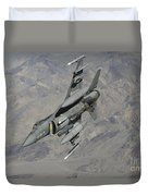 A U.s. Air Force F-16 Fighting Falcon Duvet Cover