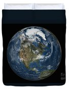 A View Of The Earth With The Full Duvet Cover