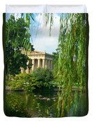 A View Of The Parthenon 17 Duvet Cover