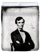 Abraham Lincoln, 16th American President Duvet Cover by Photo Researchers