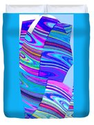 Abstract Fusion 44 Duvet Cover