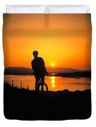 Achill Island, Co Mayo, Ireland Duvet Cover
