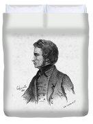 Adam Mickiewicz (1798-1855) Duvet Cover