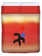 African Figure Duvet Cover