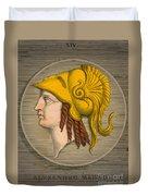 Alexander The Great, Greek King Duvet Cover
