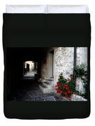 Alley With Arches Duvet Cover