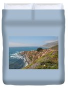 Along Big Sur Duvet Cover