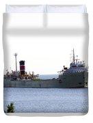 Alpena Ship Duvet Cover