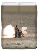 An Afghan Police Studen Fires Duvet Cover