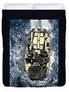 An Amphibious Assault Vehicle Navigates Duvet Cover
