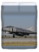 An F-4 Phantom Of The Turkish Air Force Duvet Cover