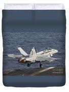An Fa-18c Hornet Taking Duvet Cover