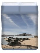 An Rq-7 Shadow Unmanned Aerial Vehicle Duvet Cover