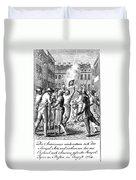 Anti-stamp Act, Boston, 1765 Duvet Cover