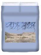 Aravah Desert Landscape  Duvet Cover