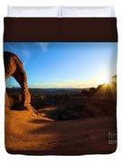 Arches Starburst Duvet Cover