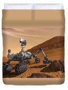 Artist Concept Of Nasas Mars Science Duvet Cover