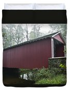 Ashland Covered Bridge Duvet Cover