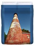 Assateague Lighthouse Duvet Cover