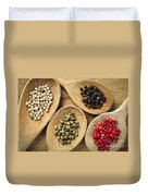 Assorted Peppercorns Duvet Cover