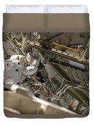 Astronaut Participates Duvet Cover