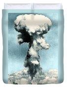 Atomic Bombing Of Nagasaki Duvet Cover