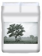 August In England Duvet Cover