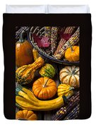 Autumn Still Life Duvet Cover