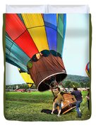 Balloonist - Ready For Takeoff Duvet Cover
