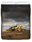 Bamburgh, Northumberland, England Duvet Cover by John Short