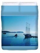 Bar Harbor Maine Duvet Cover