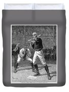 Baseball, 1888 Duvet Cover