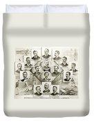Baseball, 1894 Duvet Cover