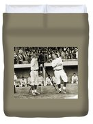 Baseball Players, 1920s Duvet Cover