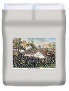 Battle Of Chickamauga 1863 Duvet Cover