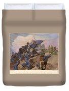Battle Of Churubusco, 1847 Duvet Cover