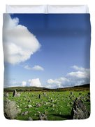 Beaghmore Stone Circles, Co. Tyrone Duvet Cover