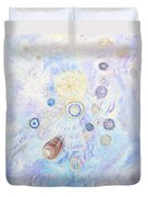 Beings Of Light Duvet Cover by Judy M Watts-Rohanna