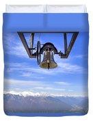 Bell In Heaven Duvet Cover
