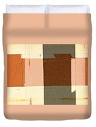 Bench Abstract Duvet Cover