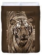 Bengal Tiger On The Prowl Duvet Cover