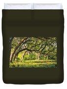 Bent Trees Duvet Cover