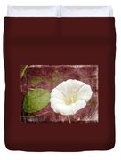 Bindweed - The Wild Perennial Morning Glory Duvet Cover
