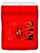 Blazing Red Duvet Cover