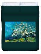 Blooming Appletree Duvet Cover