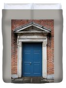 Blue Irish Door Duvet Cover